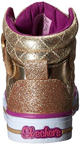 Skechers ShufflesSweetheart Sole, Scarpe da Ginnastica Bambina Oro
