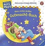 Mein erstes großes Gutenacht-Buch: Ab 12 Monaten (Meine erste ministeps-Bibliothek) - Sandra Grimm