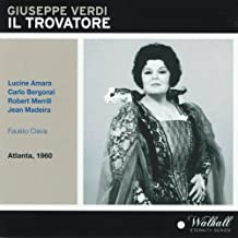 Giuseppe Verdi : Il trovatore (Atlanta, 1960)