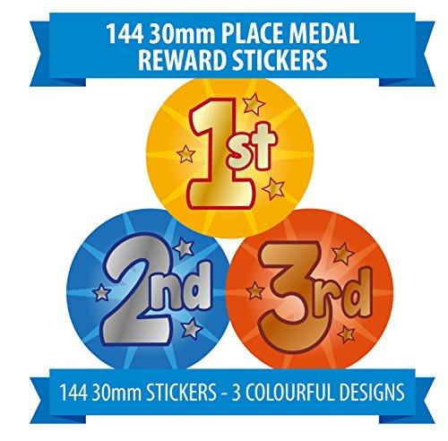 144-x-sports-days-awards-1st-2nd-3rd-children-reward-stickers-schools-teachers