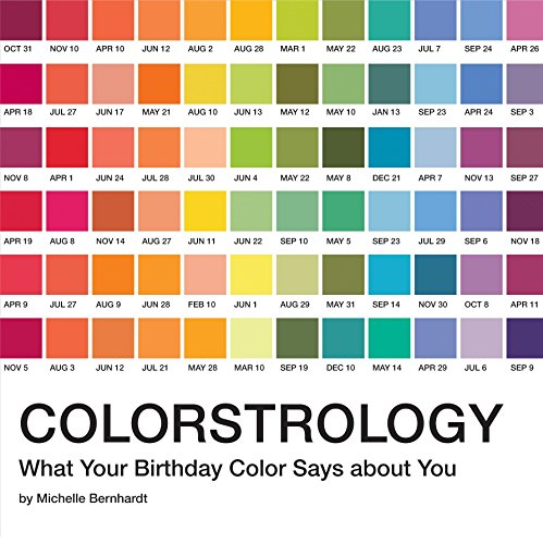 Colorstrology: What Your Birthday Color Says About You por Michele Bernhardt
