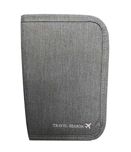 Kasten-Abdeckungs-wasserdichter Pass-Halter-bewegliche Beutel Grau