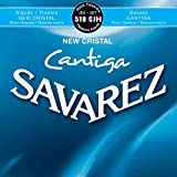 Savarez 510 CJH New Cristal CANTIGA Polished Satz, High Tension (blau)