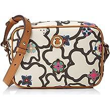 Tous Kaos Mossaic, Bolso Bandolera para Mujer, Varios Colores (Arena-Camel), 7x18x22 cm (W x H x L)