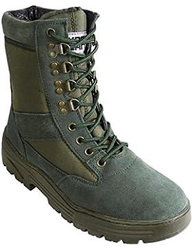 Wildleder Grün Armee Combat Boot
