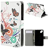 jbTec® Flip Case Handy-Hülle zu Wiko Sunset 2 / Sunny -