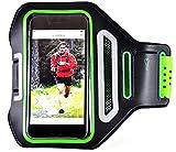 Fascia Da Braccio Portacellulare Universale [Ninjarm] per Iphone 5 | 6 | 6s | 7  Samsung Galaxy S3 | 4 | 5 | 6 | 7  Corsa Fitness Impermeabile Traspirante in Lycra Ultra Comfort