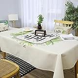 BiuTeFang Nappe tissu pastoral Feng Shui salle à manger salon de draps en coton de table nappes d'art imperméable à l'eau