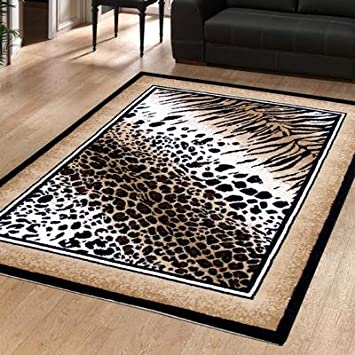 animal print rugs ebay wool sale large modern rug out of leopard approx kitchen home area target
