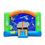 Hüpfburgen Große Outdoor-Unterhaltung Spielzeug Geschenke for Kinder Cartoon Kinder Trampolin Rutschen (Color : Color, Size : 470 * 385 * 260cm)