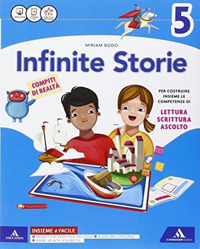 Infinite storie. Letture. Grammatica-Quaderno operativo scrittura, arte e musica. Per la Scuola elementare. Con e-book. Con espansione online: 2