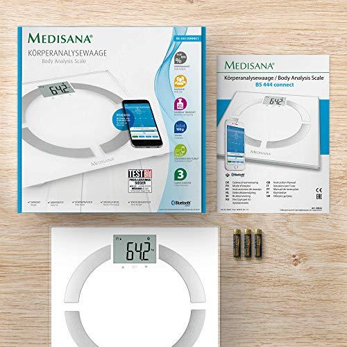 Medisana connect Körperanalysewaage zur Messung aller Körperdaten - 7
