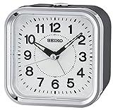 Seiko Unisex Wecker Analog schwarz QHE130K