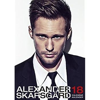 Alexander Skarsgard 2018 Calendar