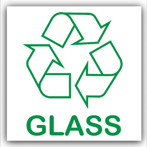 sive Sticker-Recycle Logo Sign-Environment Label by Platinum Place ()