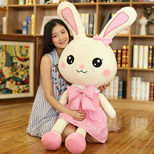 FUYUHAN Plüschtier Plüschtier benutzerdefinierte Puppe Puppe Firma Maskottchen benutzerdefinierte Kaninchen @ Pink_170cm