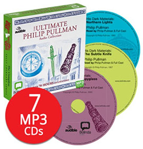 Philip Pullman Audio Collection - 7 MP3 CDs