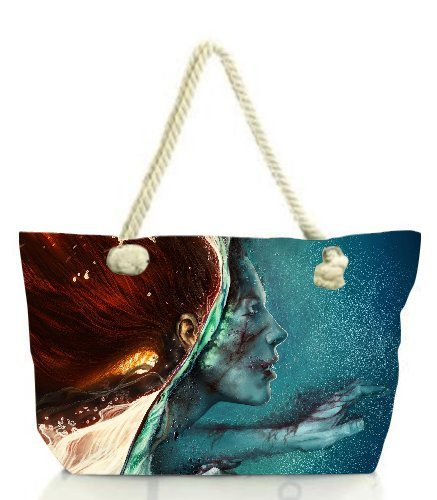 snoogg-zombie-red-head-women-anchor-messenger-handbag-shoulder-bag-lady-tote-beach-bags-blue