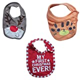 #7: DCS Soft Cotton Baby Bibs(Pack of 3 Combo)(0-6months)