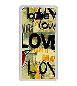 Love Wallpaper 2D Hard Polycarbonate Designer Back Case Cover for Samsung Galaxy A8 (2015 Old Model) :: Samsung Galaxy A8 Duos :: Samsung Galaxy A8 A800F A800Y
