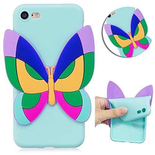 Vandot Per iPhone 8 / iPhone 7 4.7 Pollice esclusivo design Cover Custodia Per iPhone 7 4.7 Pollice staccabile aria plastica dura di PC Ritorno Bumper Case Cover Per iPhone 8 ultra slim Thin 0,9 mm Ma Cute 4