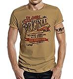 Design, T-Shirt zum 50. Geburtstag: Alles Original - Der Beste Jahrgang-L