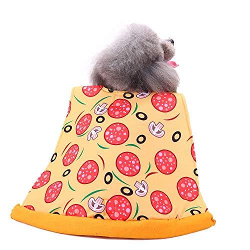 idung Hund Chic Pizza Slice Pet Anzug Pet Dress Up Hundebekleidung ()