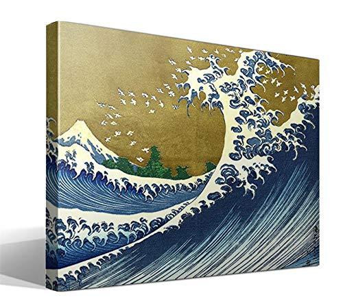 Cuadro Canvas Gran Ola de Katsushika Hokusai
