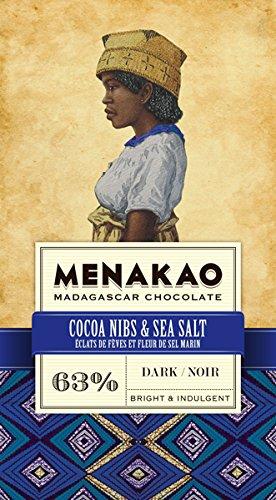 Menakao | dunkle Schokolade & Meersalz - Plantagen Dunkle Schokolade
