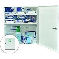 Metall-Branchenschrank WERKSTATT/KFZ Weiß 455 x 400 x 110 mm, gefüllt preisvergleich bei billige-tabletten.eu