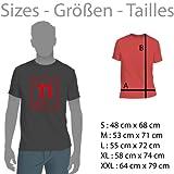 Texlab Downhill Evolution - Herren T-Shirt, Größe L, violett