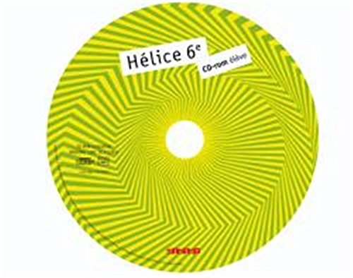 Helice 6e CD ROM de Remplacement
