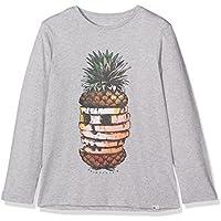 Quiksilver LS Classic tee YTH Hot Pineapp Camiseta de Manga Larga, niños, Gris (Highrise Heather), XS