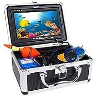 Eyoyo Buscador de Peces 30m Cámara de Pesca submarina 7 Pulgadas TFT FHD LCD LED Luz IP68 Impermeable (30M)