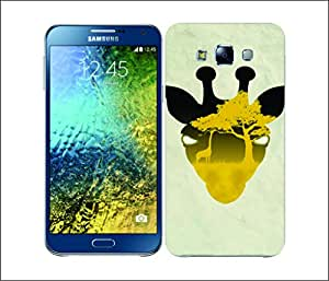 Galaxy Printed 2453 Nature Of Animal Girrafe Hard Cover for Samsung A7