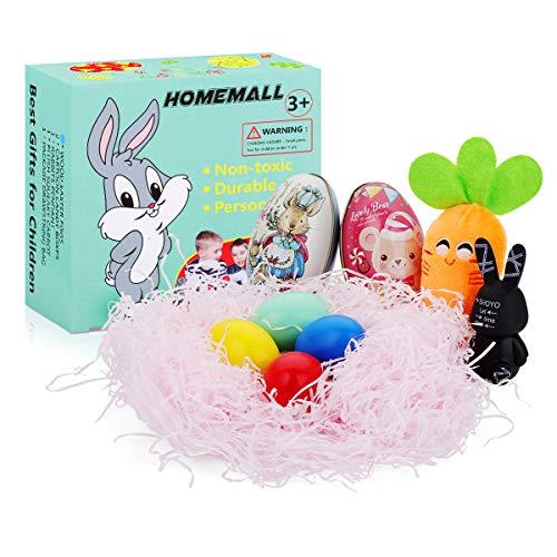 rn personalisierte Holzspan mit Zwischenlagen Holz DIY Ostereier Schokolade Fall Kaninchen hängen Ornament Ostern Spielzeug für Kinder Mädchen Jungen von Home Mall ()
