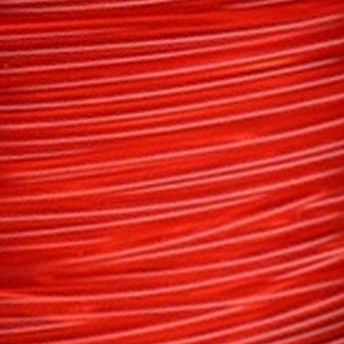 3dz Imprimante Filament Pla 1,75mm 1kg Rouge Transparent
