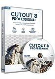 FRANZIS CutOut 8 professional|8|Die neueste Version vom Freistellspezialisten|Inkl. Photoshop Plug-ins für den perfekten Workflow|Bildretusche-Software für Windows® 10/8.1/8/7|Disc|Disc