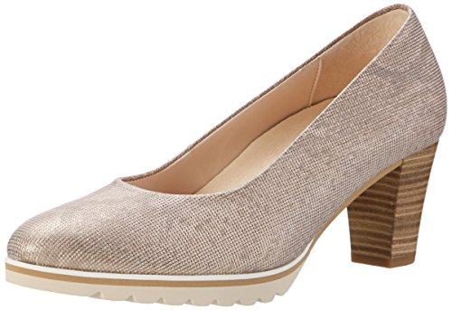Gabor Shoes Damen Comfort Pumps, Beige (Leinen S.Rose/A.n 12), 36 EU