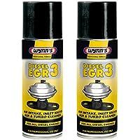 Wynns 2 limpiadores de turbo y válvula de entrada, fórmula profesional, toma de aire Diesel EGR 3, 200ml.