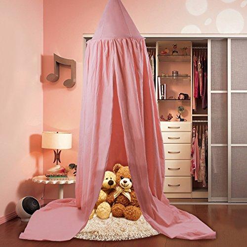 Betthimmel für Kinder, Baumwolle mosqutio Net Zum Aufhängen Vorhang, Baby indoor outdoor Play Lesen Zelt, Bett & Schlafzimmer Dekoration, Insekten Net Schutz