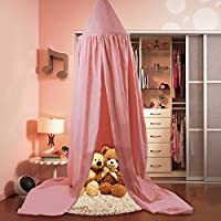Kinder Betthimmel rund Kuppel Kinderzimmer Deko Baumwolle Moskitonetz Kinder Prinzessin Spielzelte Zimmer Dekoration für Baby