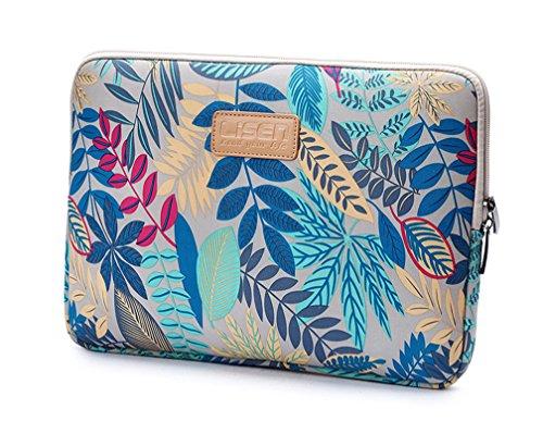 """Bohème Schutzhülle Schutztasche für Laptops Laptophülle Tasche Schutzhülle Sleeve Tasche für Laptop/Notebook Tablet iPad Tab 9.8\"""" Grau"""