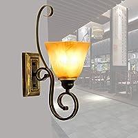 WandunIlluminazione Di Europeo-Stile Parete Lampada Ferro Antico Scala Luce Specchio Minimalista Americano Terrazza Anteriore