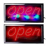 LED Leuchtreklame Werbung, LED Schild, Leuchtschild Noyan® (Open_v3)