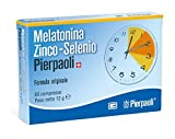Melatonina Zinco Selenio Dr Pierpaoli Integratore Alimentare 60 Compresse