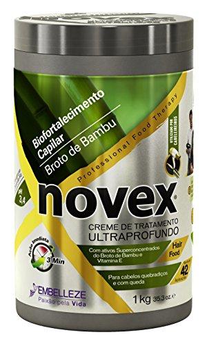 Masque Pousse de Bambou 1kg Novex - Force et Croissance