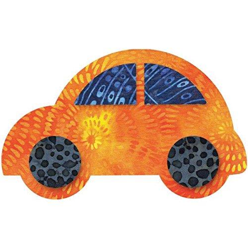 AccuQuilt 55354 Stanzform Cute Car 5 1/2 x 3 3/8 Zoll, 14 x 8.6 cm