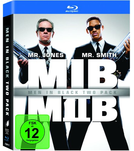 Men in Black 1+2 [Blu-ray]