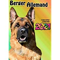 CALENDRIER BERGER ALLEMAND 2021-12 PAGES CALENDAR DOG CHIEN ANIMAUX CADEAUX GERMAN SHEPHERD